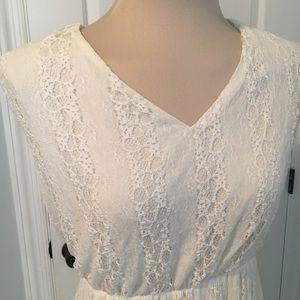 Haani Dresses - 2X Haani White Lace Stretch Dress